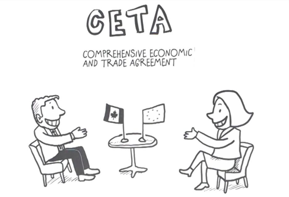 CETA - umowa o wolnym handlu pomiędzy UE i Kanadą [AKT. - zielone światło]