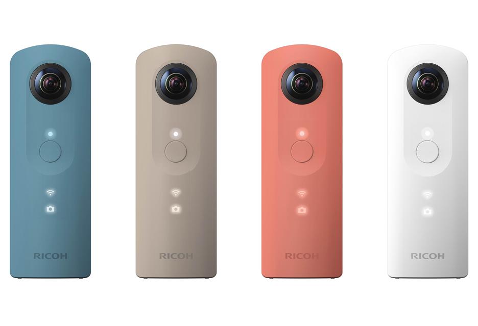 Ricoh Theta SC - prostsza wersja kamery Ricoh Theta S do filmów sferycznych