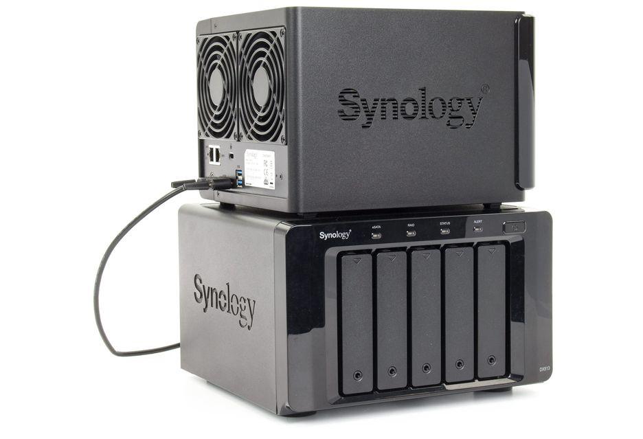 Synology DX513 - a dysków będzie 5, a terabajtów 50 | zdjęcie 4