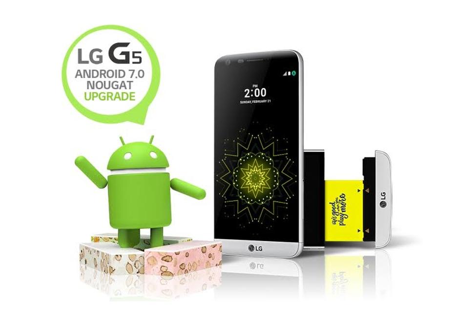 Android 7.0 Nougat trafia na LG G5
