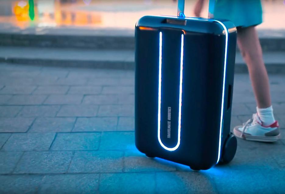 Inteligentna walizka podróżna - Travelmate
