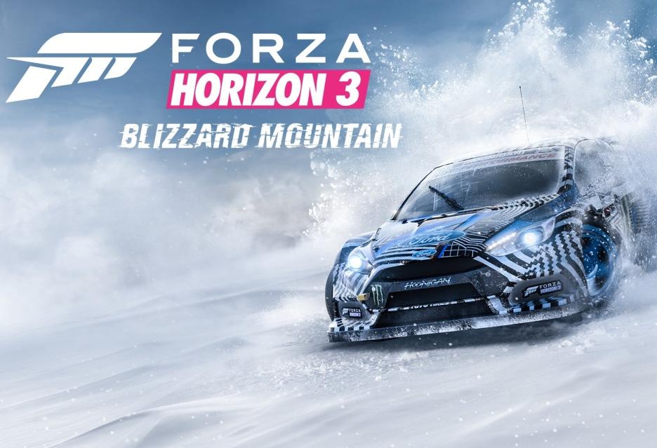 Blizzard Mountain pierwszym dużym rozszerzeniem Forza Horizon 3