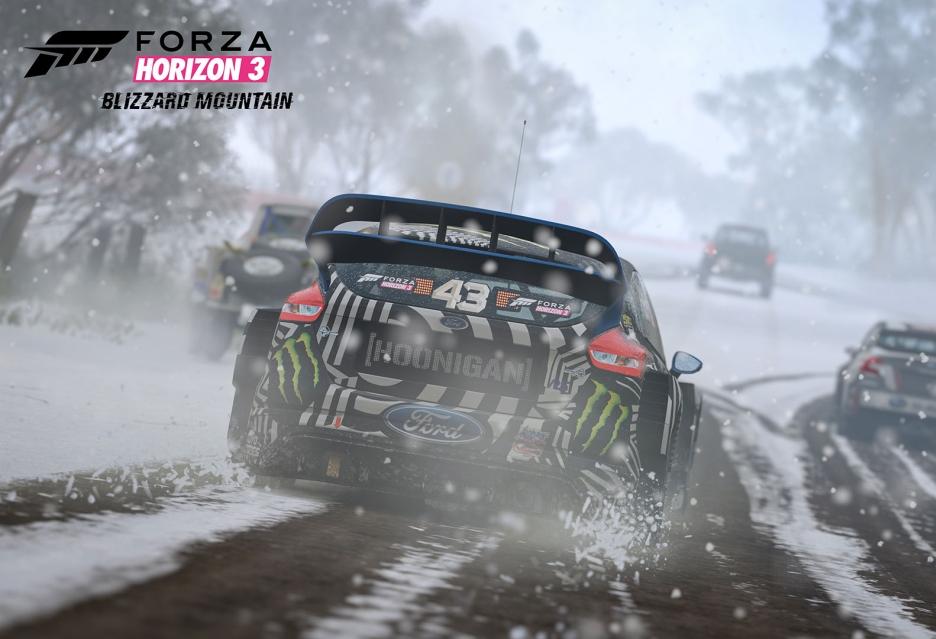 Zima zawitała do Forza Horizon 3