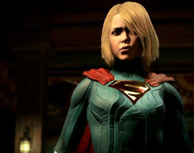 Injustice 2 - a Supergirl walczy tak