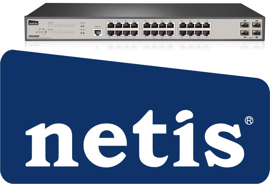 Przełącznik Netis PE6328GF to sposób na dobry Internet w firmie