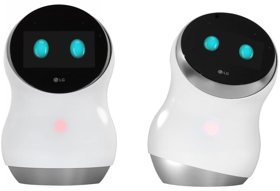 LG Hub Robot - (mrugający) asystent domowy