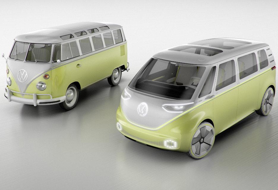 Elektryczny i autonomiczny - mikrobus Volkswagena odświeżony [AKT.]