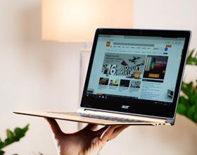 Acer Swift 7 - najcieńszy laptop z niespełna 10 mm obudową