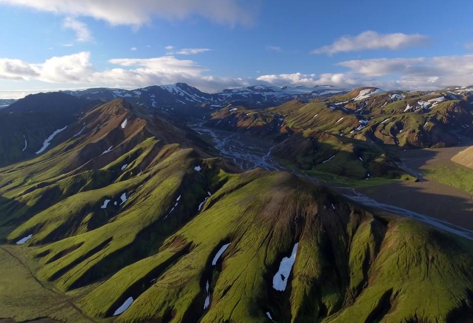 Cudowna Islandia z lotu drona