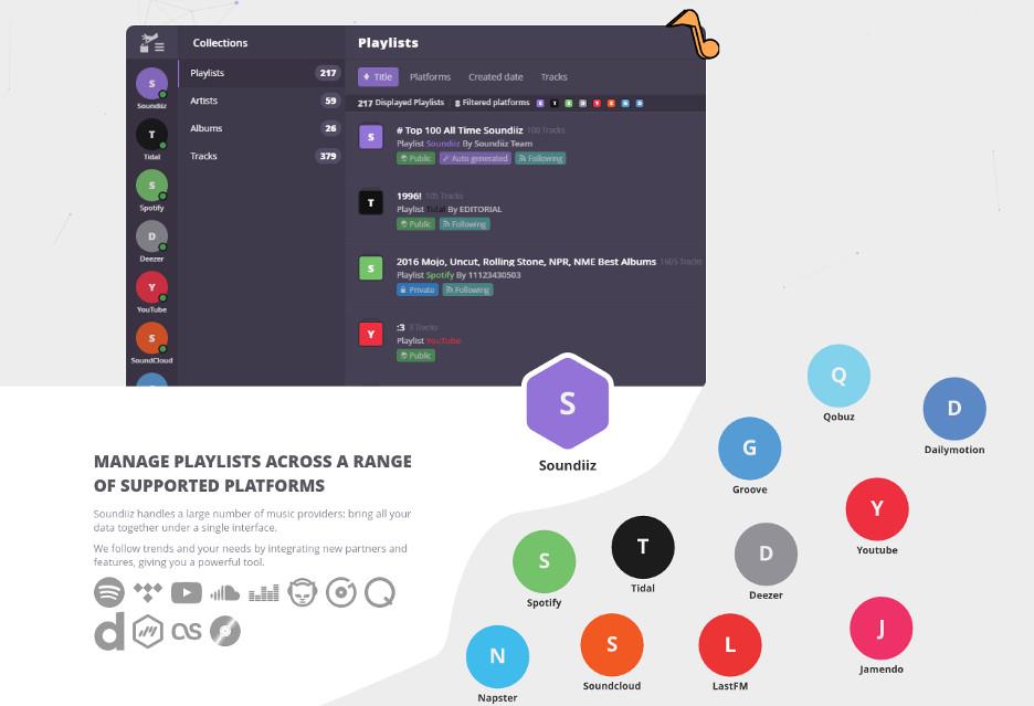 Prosty sposób na przenoszenie playlist między usługami Spotify, Tidal czy YouTube