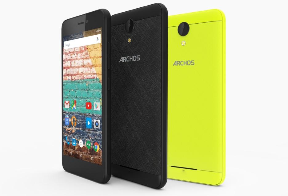 Archos 50f Neon w Polsce - Android 7.0 Nougat w bardzo tanim smartfonie