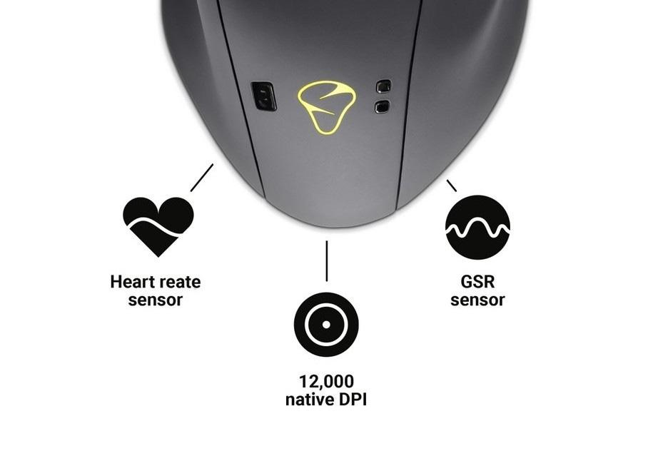 MIONIX NAOS QG i Nevermind - mysz z pulsometrem i gra, która czuje twój strach | zdjęcie 1