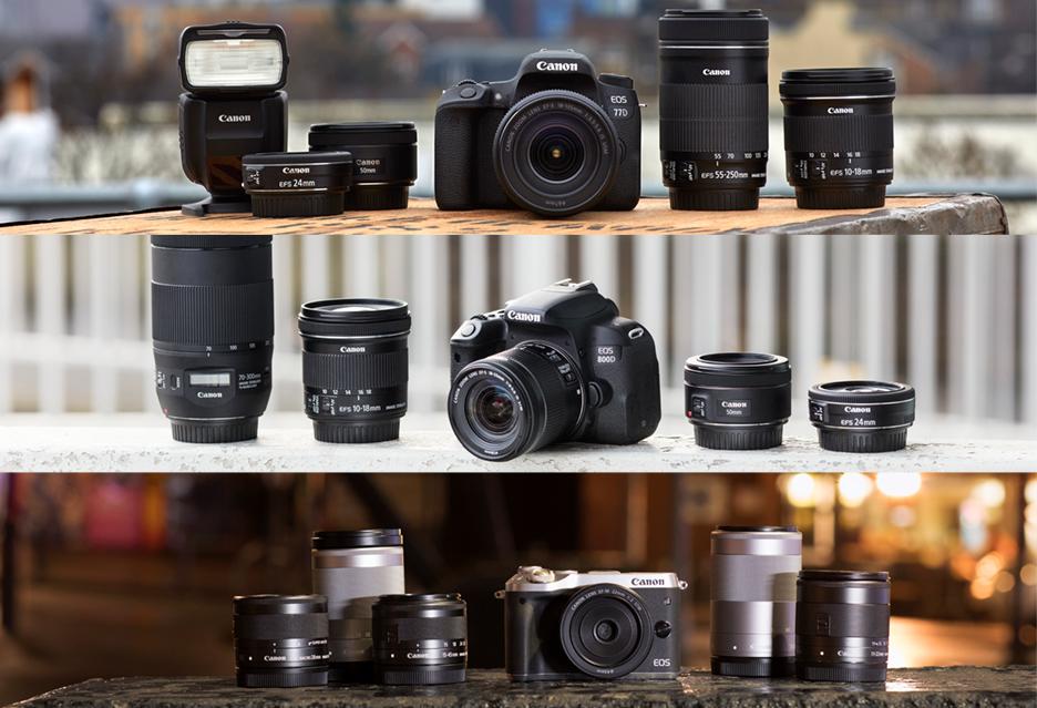 Canon EOS M6, Canon EOS 800D i 77D - czyli zamieszanie w fotonowościach Canona