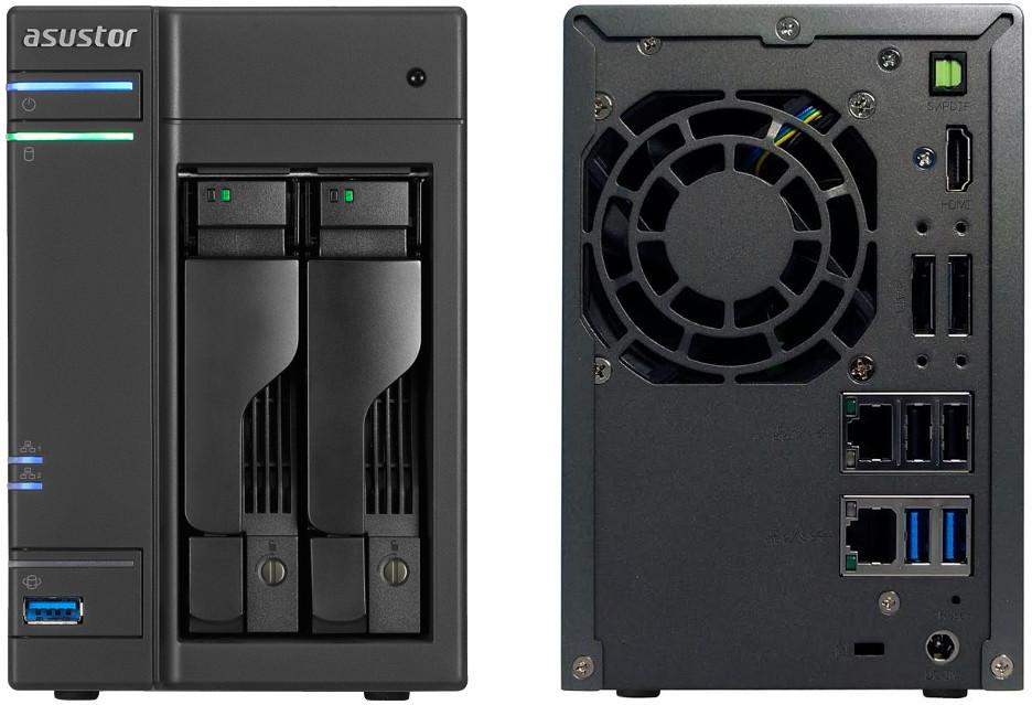 Asustor AS6202T - serwer NAS dla rozwijającej się firmy