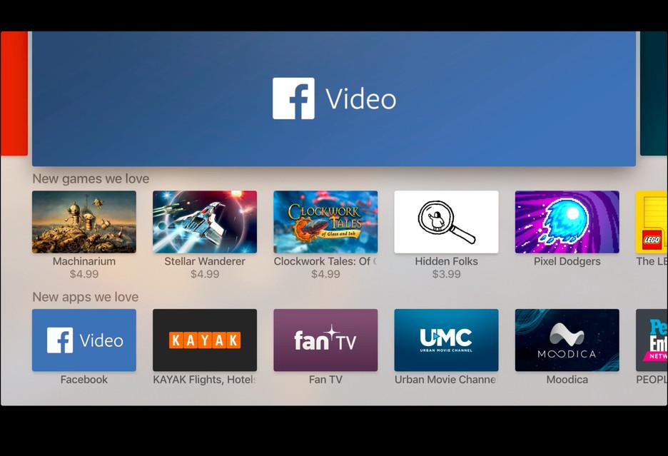 Aplikacja Facebook Video na telewizorach Samsung