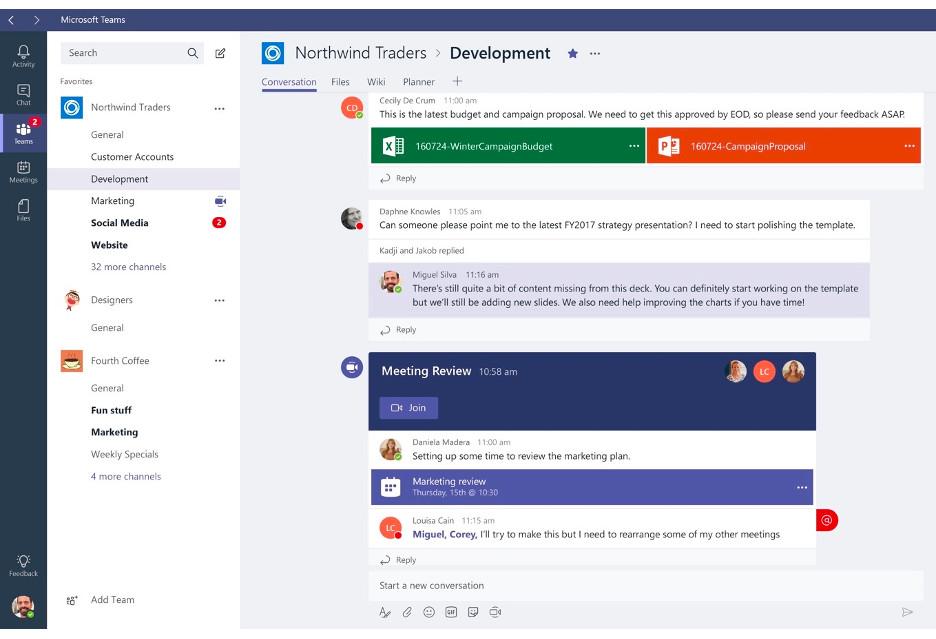 Microsoft Teams - intrygująca aplikacja do pracy w zespole