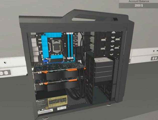 Symulator składania komputera - i to się nazywa pomysł