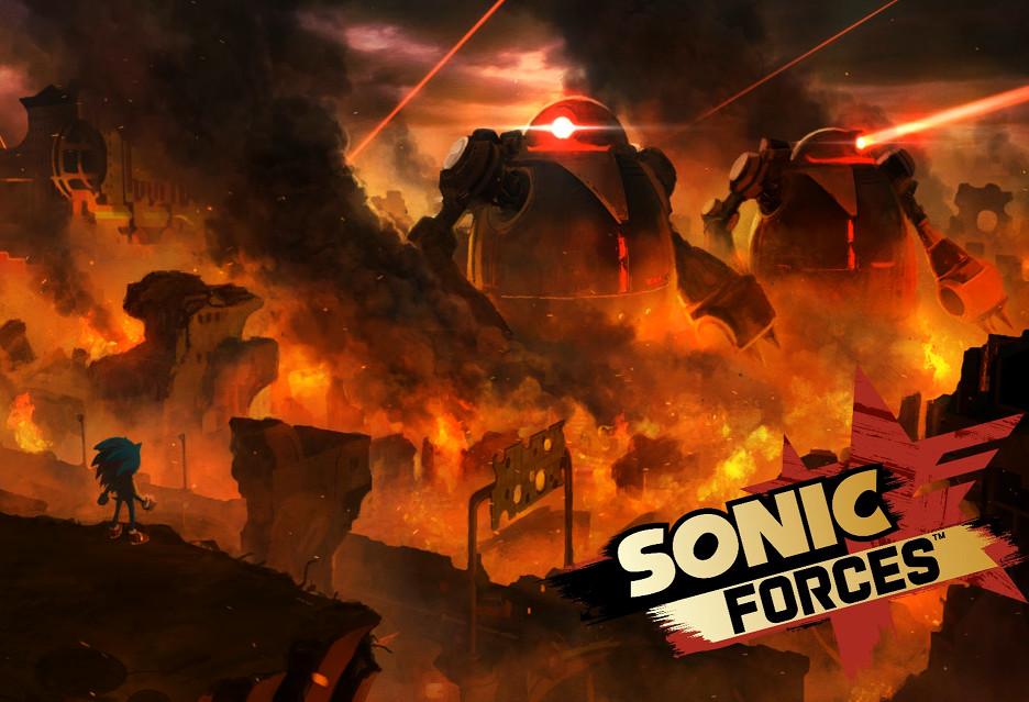 Sonic Forces - jeżyk po liftingu zapowiada się nieźle