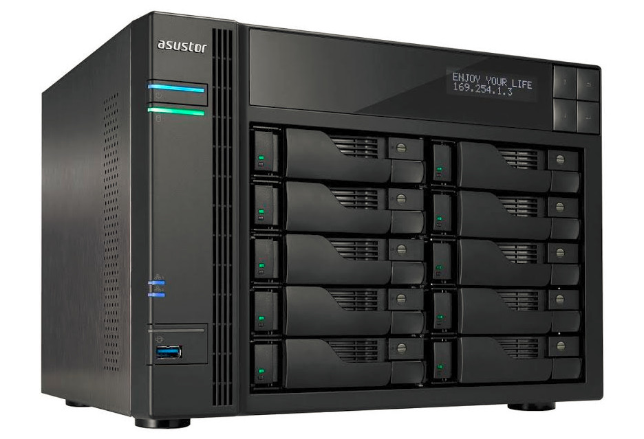 Pojemny i wydajny serwer NAS Asustor AS6210T