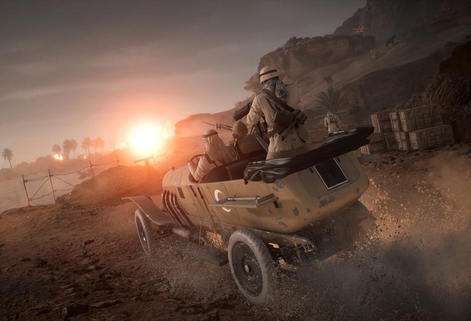 Battlefield 1 wzbogaca się o ciekawą usługę - współdzielone premium