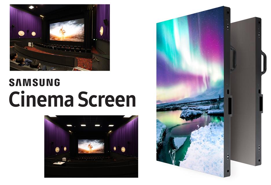 Ekran LED HDR zamiast projektora w kinie - Samsung proponuje nowy trend