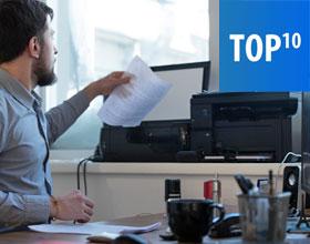 TOP 10 drukarki wielofunkcyjne do małej firmy