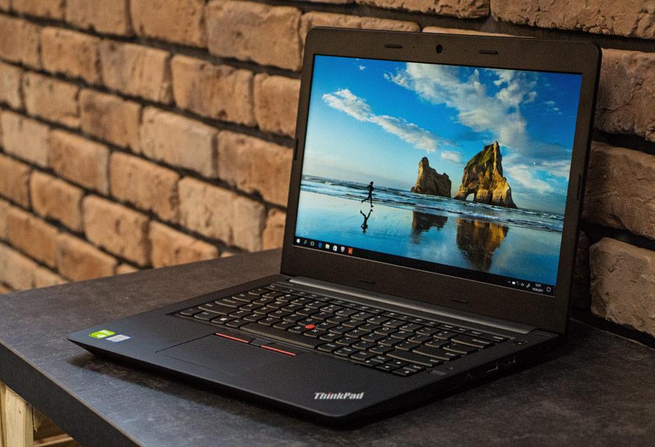 Lenovo ThinkPad E470 – alternatywa dla drogich laptopów biznesowych | zdjęcie 1
