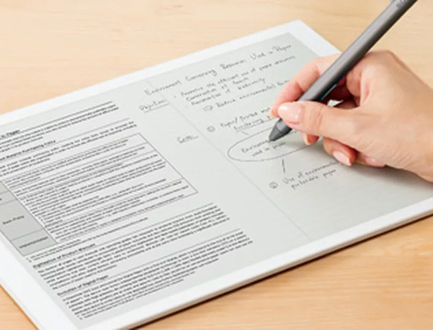 E-papierowy tablet Sony - zyska uznanie w korporacjach?