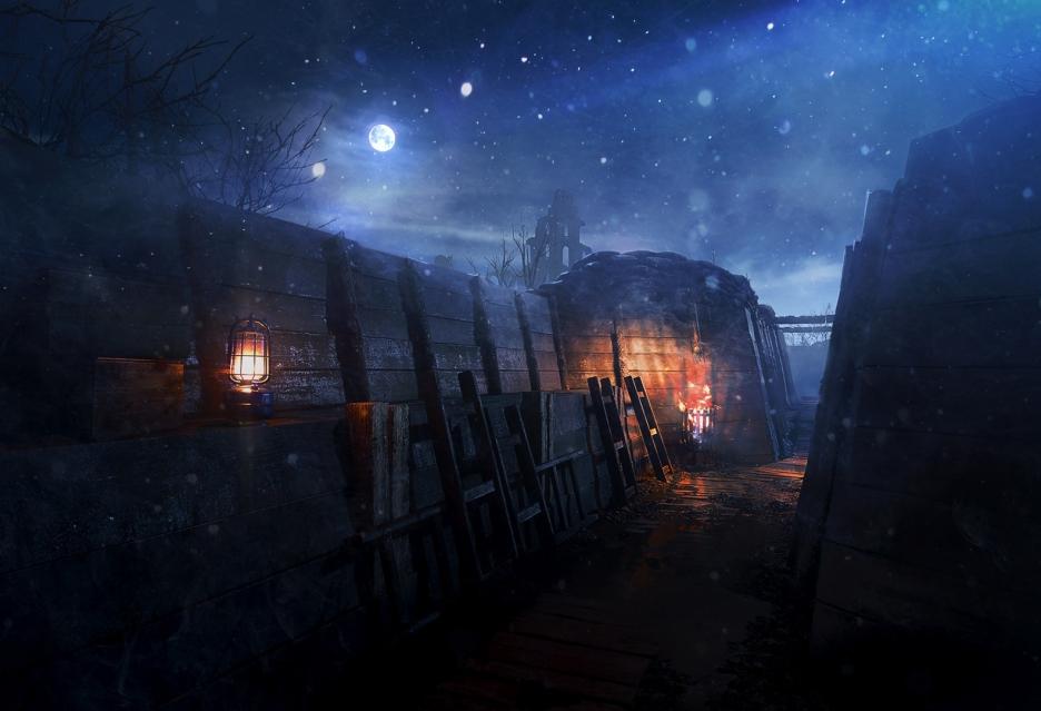 Battlefield 1 otrzyma mapę Nivelle Nights - powalczymy pod osłoną nocy