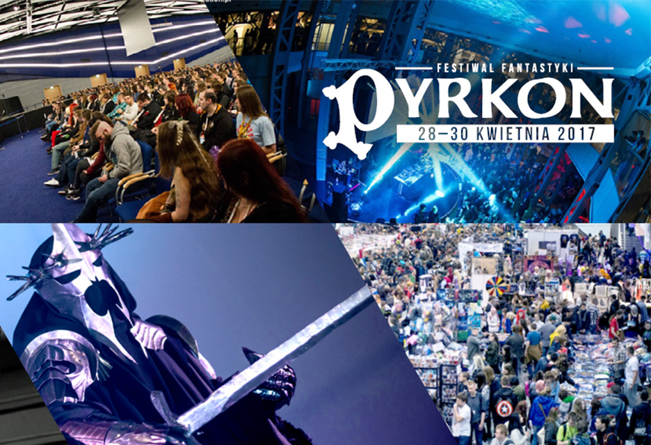 Pyrkon zbliża się wielkimi krokami! Największe fantastyczne wydarzenie w Polsce już w kwietniu