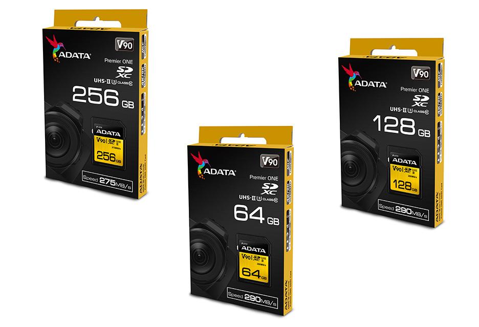 ADATA V90 SDXC - karty pamięci z 3D NAND dla filmowców z wymaganiami