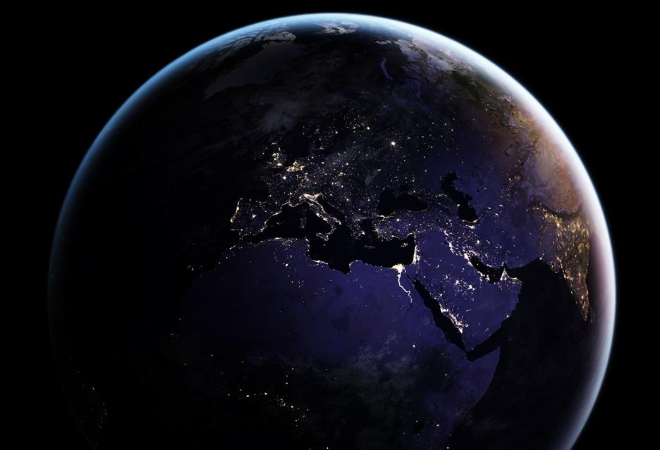 Obraz Ziemi widzianej nocą - co rok, co miesiąc, a w końcu nawet codziennie