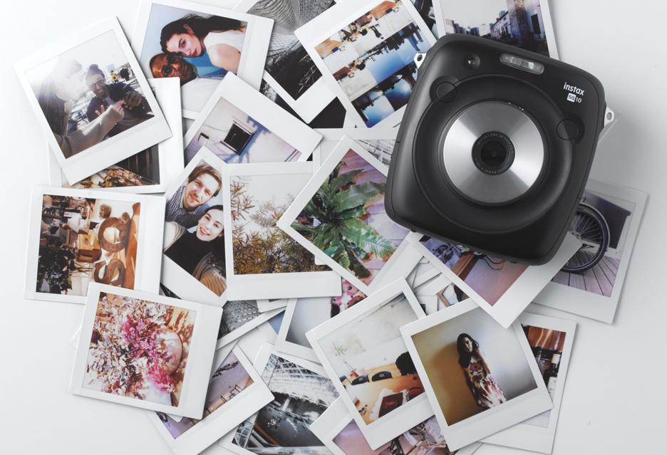 Fujifilm instax SQ10 - natychmiastowe zdjęcia z aparatu cyfrowego