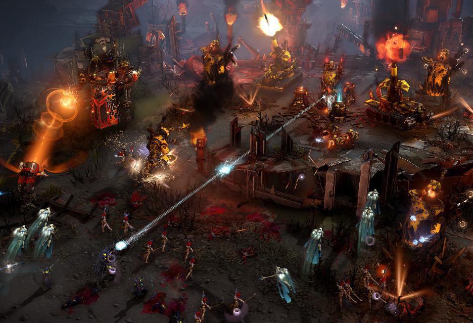 Dawn of War III - oceny, zwiastun, pierwsze minuty