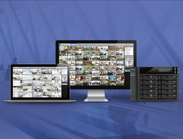 Aplikacja Asustor do centrów monitoringu