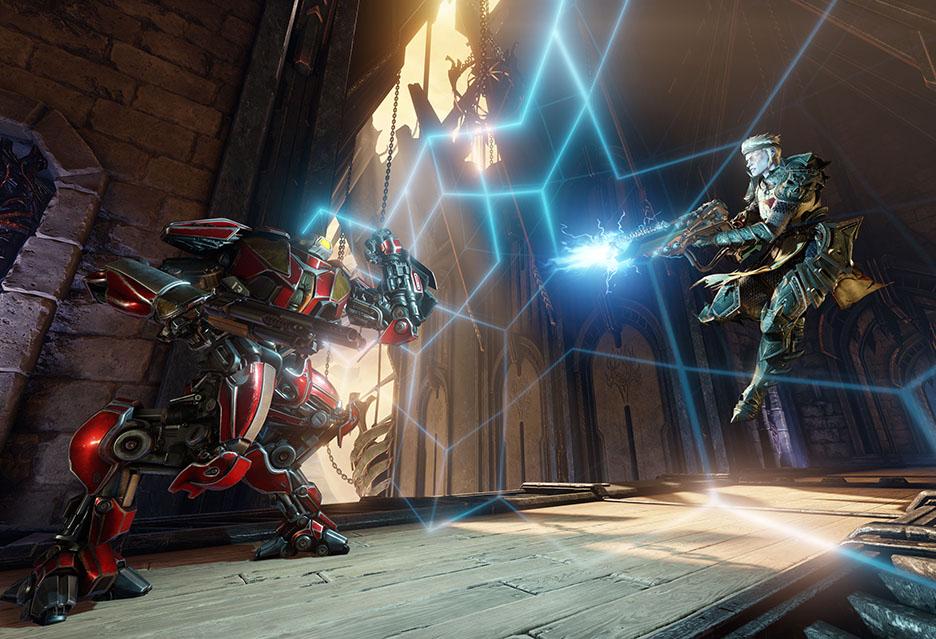 Quake Champions Beta - raport z pola bitwy + krótkie testy wydajności | zdjęcie 1