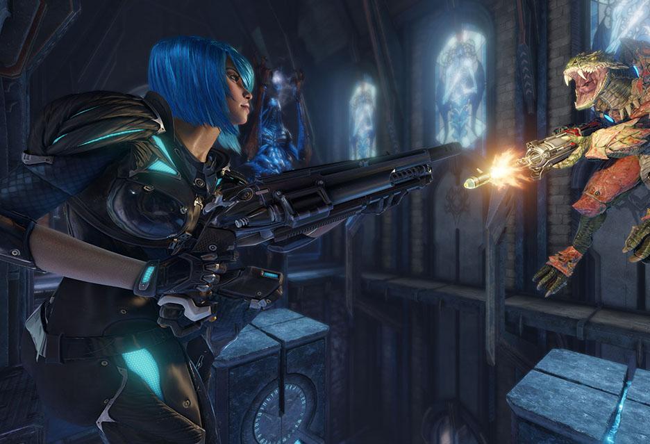 Quake Champions Beta - raport z pola bitwy + krótkie testy wydajności | zdjęcie 3