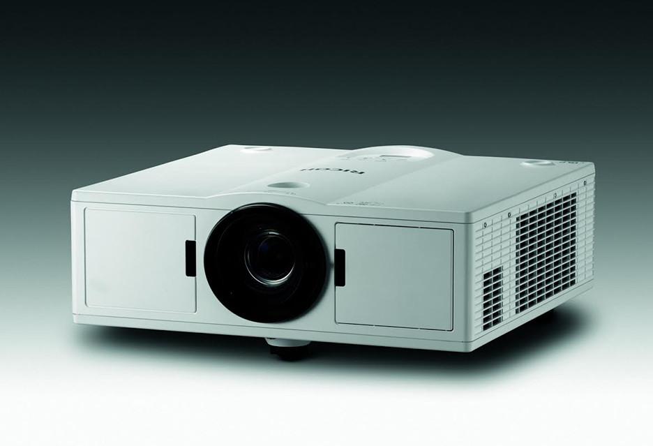 Laserowe projektory Ricoh do zastosowań profesjonalnych