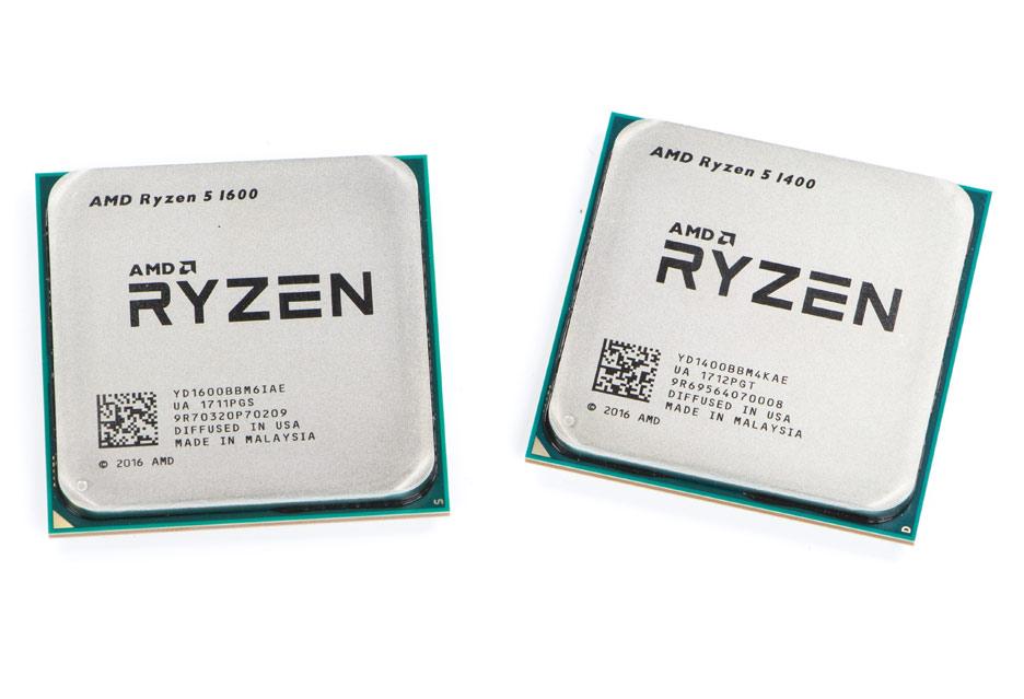 AMD Ryzen 5 1400 i 1600 – procesory na piątkę? | zdjęcie 2