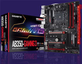 Gigabyte AB350-Gaming 3 - AM4 za 500-