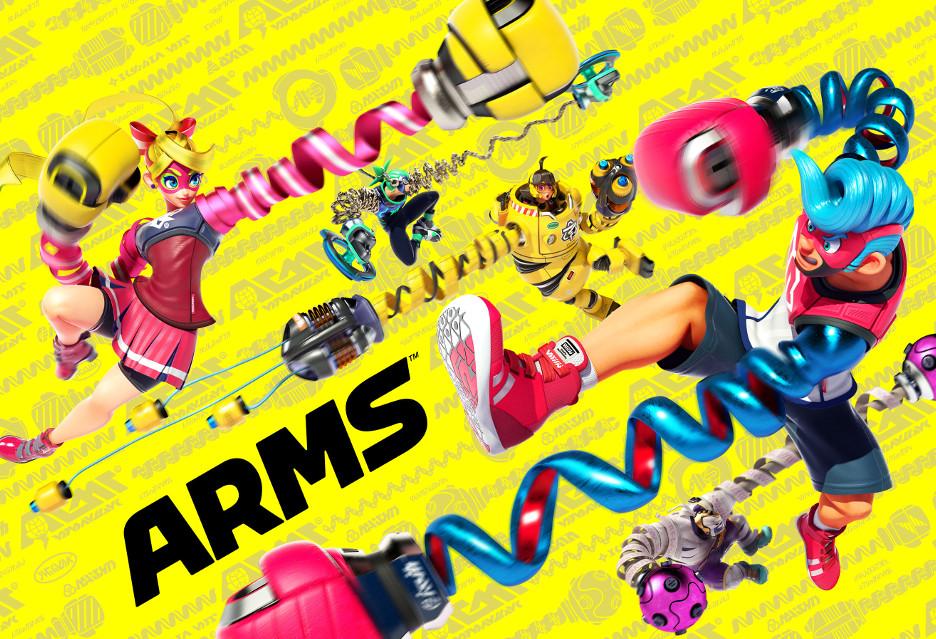 Oto ARMS - zwariowana bijatyka od Nintendo