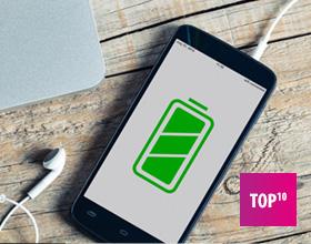 Smartfon z dużą baterią – TOP 10