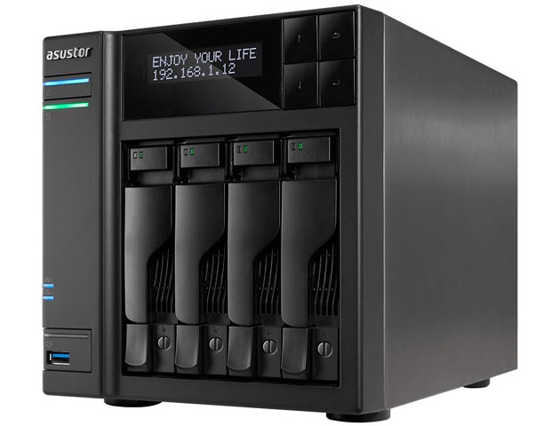 Asustor AS6404T - NAS z procesorem Apollo Lake