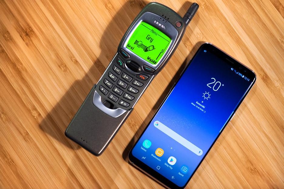 Nokia 7110 vs Galaxy S8 – który lepszy? | zdjęcie 1