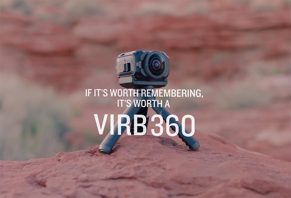 Kamera sportowa Garmin VIRB 360 - cały świat dookoła głowy w 5.7K, nawet pod wodą