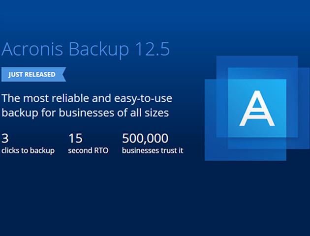 Acronis Backup 12.5 - nowa wersja programu już dostępna