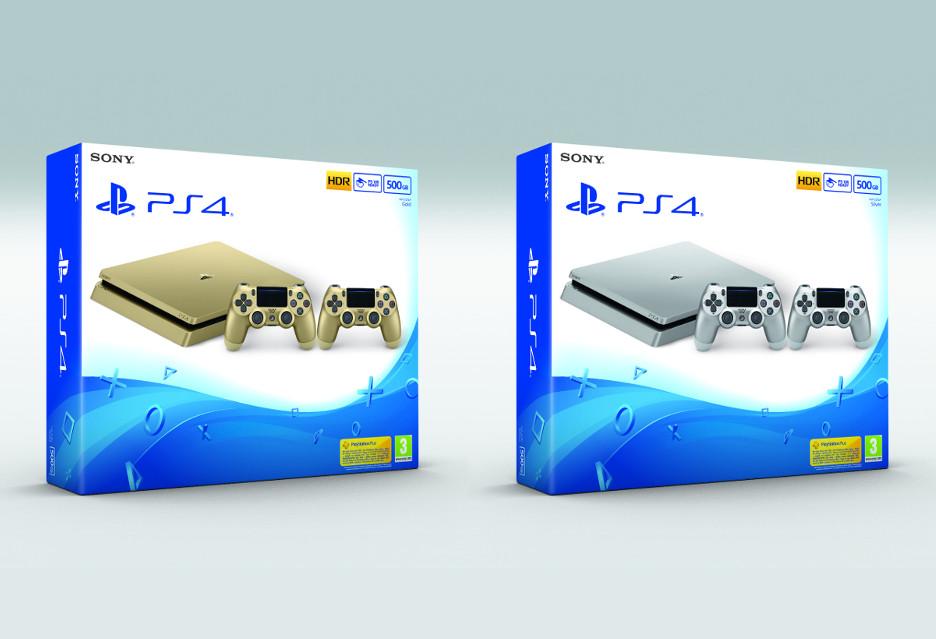 Złote i srebrne PlayStation 4 [AKT.]