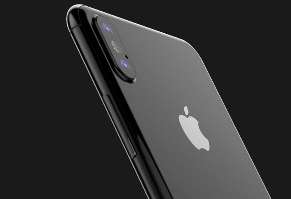 Te grafiki pokazują, jak może wyglądać iPhone 8 z ekranem OLED bez ramek