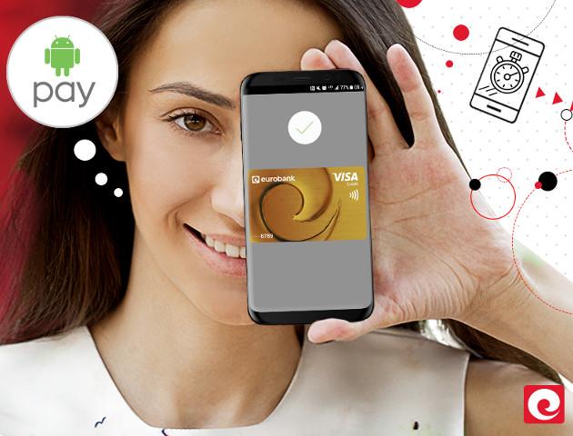 Android Pay teraz także dla klientów Eurobanku