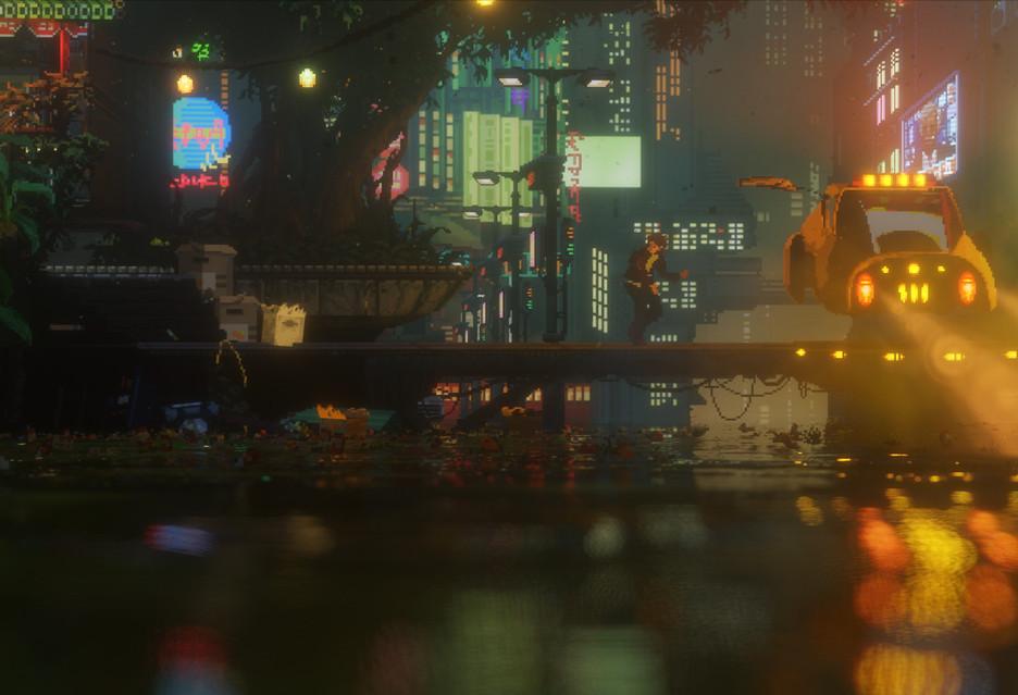 E3 2017: intrygujące, cyberpunkowe The Last Night [AKT.]